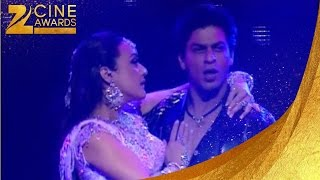 Zee Cine Awards 2005 SRK & Preity Zinta Dance