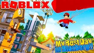 ROBLOX - MY BEST DAY IN BLOXBERG!!