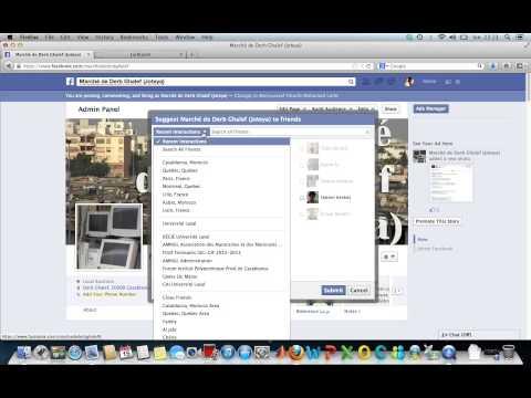 Facebook Fanpage Mass Invitation Trick