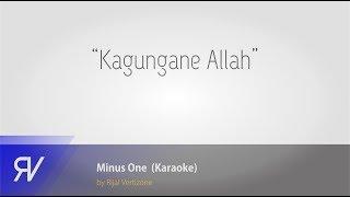 Kagungane Allah (minus one/karaoke) by Rijal Vertizone