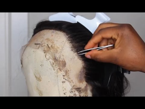 Tutorial|| Make Your Lace Wigs Hairline So Natural