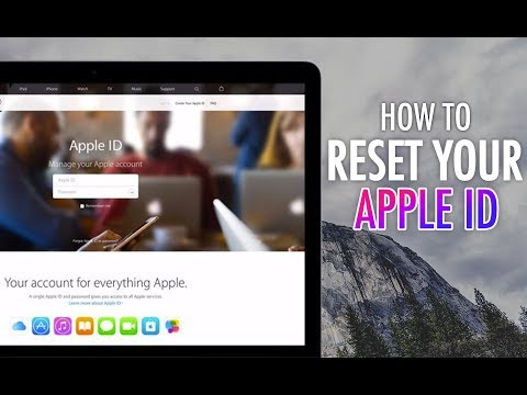 How to reset a forgotten Password for Apple ID, iCloud, App Store or iTunes