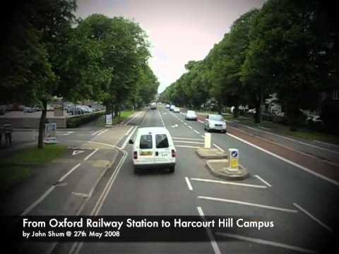 [080527] UK - From Oxford Railway Station to Harcourt Hill Campus by U1