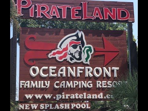 Touring PirateLand Campground in Myrtle Beach
