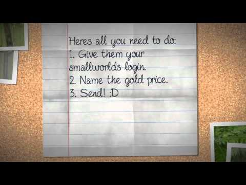 How to get free gold on smallworlds.(REAL!) STILL WORKS.