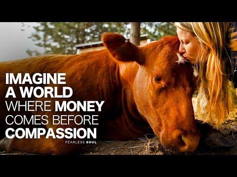 Imagine A World Where Money Comes Before Compassion...