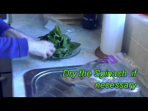 How to keep Spinach fresh longer in the fridge. YouTube.