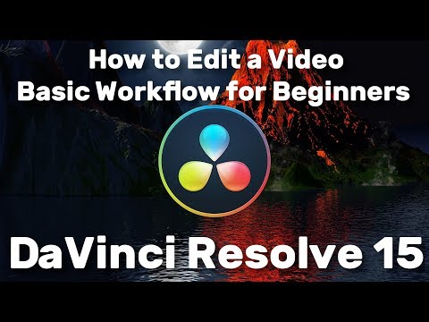 Edit a Video Start to Finish | 15 Minutes Tutorial for Beginners | DaVinci Resolve 15