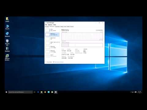 How to check Number of RAM slot using Taskmanager