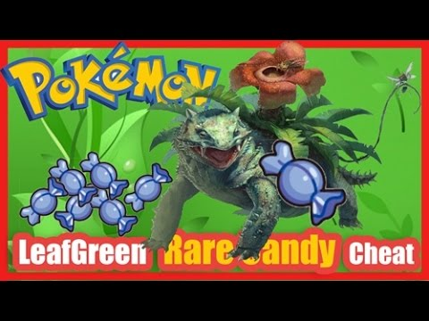 Pokemon Leaf Green Rare Candy Cheat