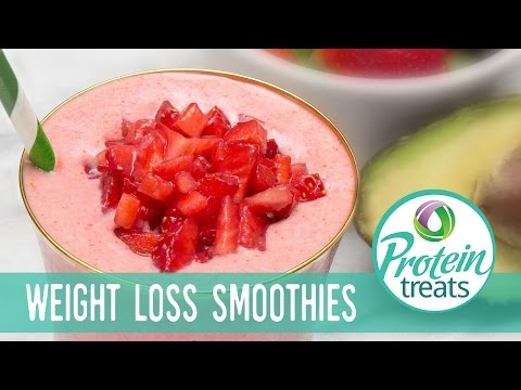 Strawberry Avocado Smoothie Recipe Protein Treats by Nutracelle