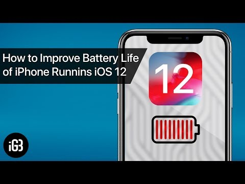 How to Improve iOS 12 Battery Life on iPhone or iPad
