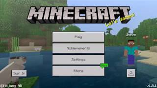 MINECRAFT POCKET EDITION VS MINI CRAFT, Minecraft PE, Mini Minecraft, Mobile Games, iOS, Android