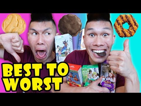 Girl Scout Cookies Ranked Best to Worst || Life After College: Ep. 586