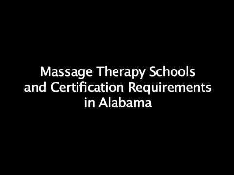 Massage School Requirements in Alabama