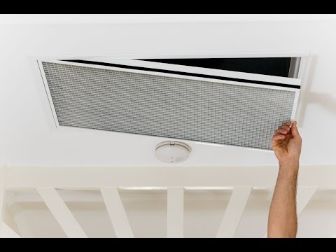 Air Con Filter maintenance  / Ducted / How to DIY