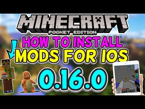 How to Install Mods/Addons for iOS! - Minecraft PE 1.0.5+ (ADDONS)