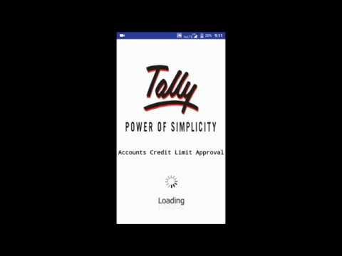 Tally - Android App For : Credit Limit Live Approval