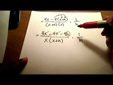 Calc I: Find slope & equation of tangent line at a given point