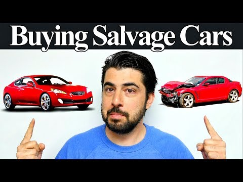 Are Salvage Title Vehicles Amazing Buys?  Plus Audi Update