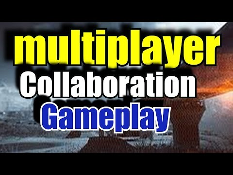 Battlefield 4 -collaboration synced multiplayer-live