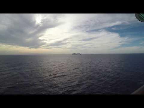 Cruise Ship Race off of the Coast of Cuba