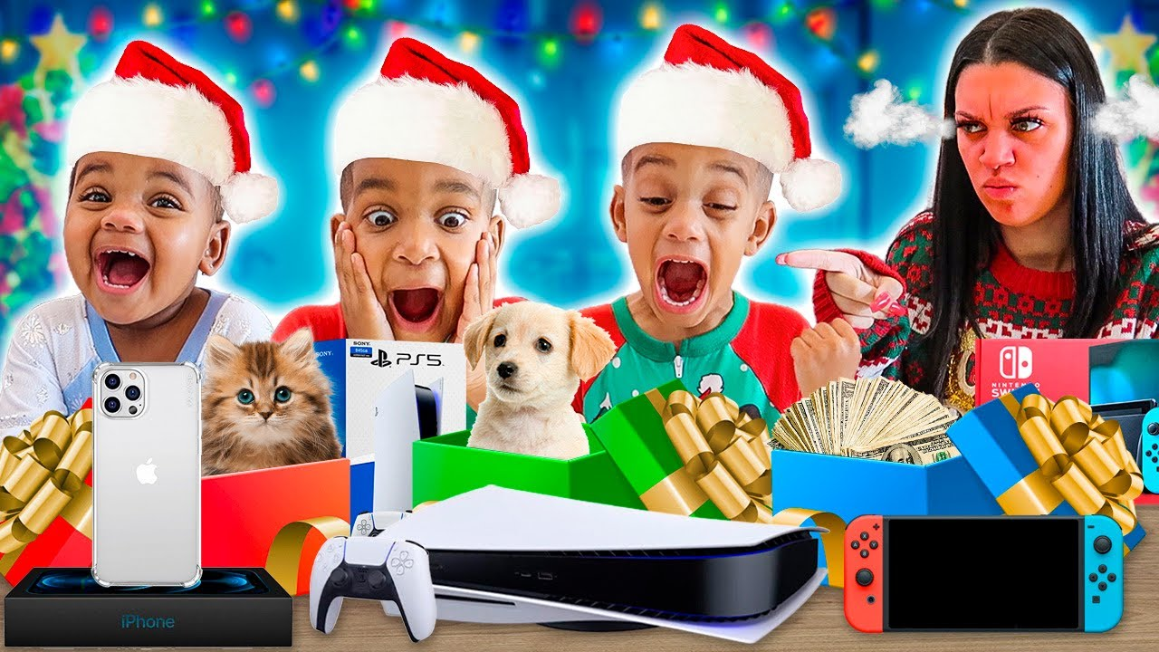 WE CAUGHT OUR KIDS OPENING CHRISTMAS PRESENTS EARLY **THEY'RE IN TROUBLE**