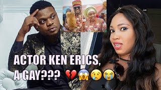 Nollywood Actor Ken Erics speaks on why he abandoned his wife of 2 years, Onyi Adaba