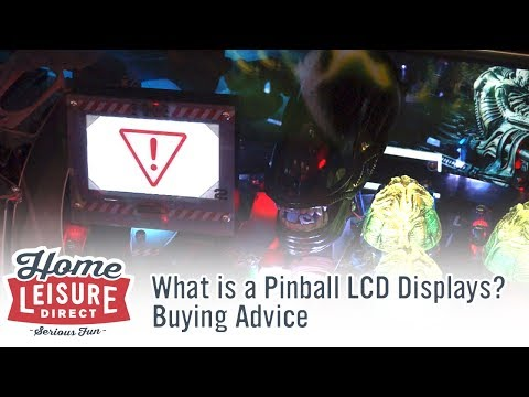 What are Pinball LCD Displays?