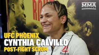 UFC Phoenix: Cynthia Calvillo Believes She Would Give Tatiana Suarez