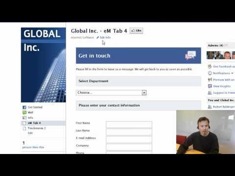 Facebook Tools-How to change Facebook Tab name & setting default Landing Tab