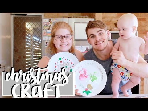 DIY CHRISTMAS PLATES | CHILD FRIENDLY | COLLAB