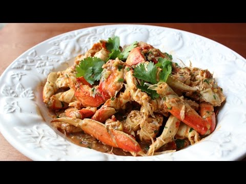 Singapore Chili Crabs Recipe - Crab with Sweet & Spicy Chili Sauce
