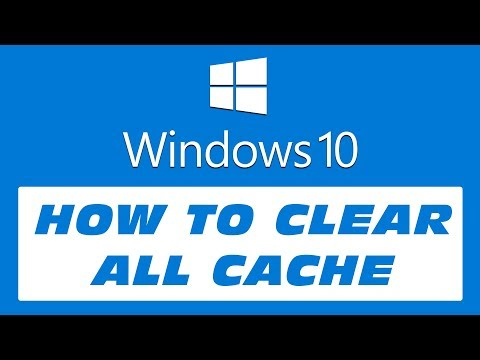 How to Clear All Cache on Windows 10 | Make Your PC Faster (2018)