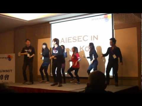 AIESEC APER Summit Taiwan 2012 Roll Call --  Hongkong