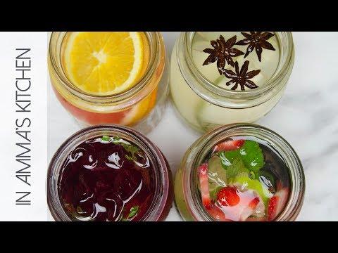 4 Flavoured Water Idea's