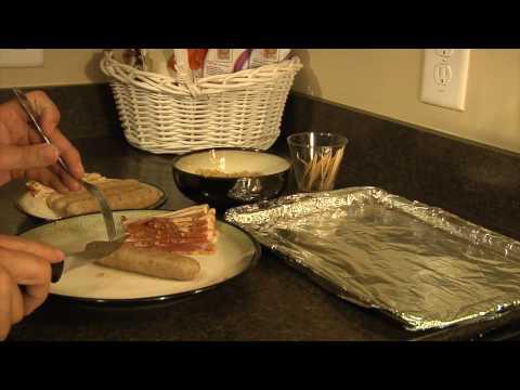 How to make Bacon Wrapped Bratwurst - BaconChefs.com