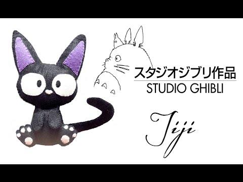 Anime: How To Make Jiji Plushie Tutorial