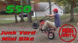420cc Mini Bike Build: The first ride