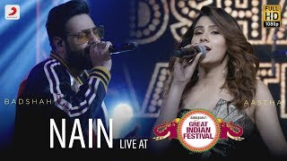 Nain - Live @ Amazon Great Indian Festival | Badshah & Aastha | O.N.E
