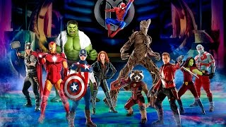 Marvel Universe LIVE! Announces new show Age of Heroes!