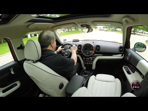 2017 Mini Cooper Countryman ALL4 Test Drive