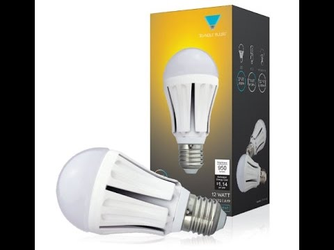 Triangle Bulb Led 75W Replacement Bulb Review & Givaway