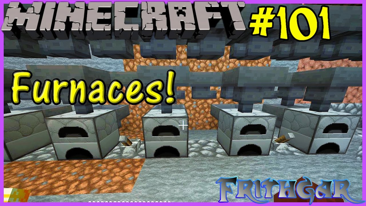 Let's Play Minecraft #101: Smelter Array!
