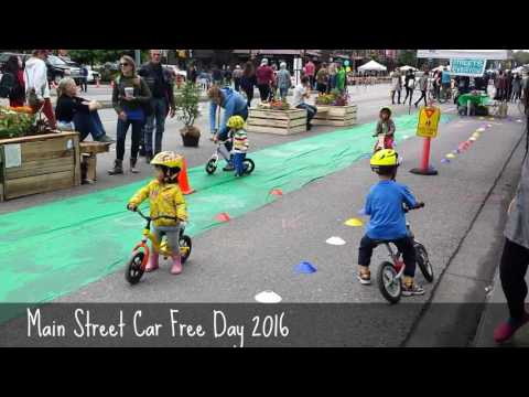 Kids on Wheels Main Street Car Free Day