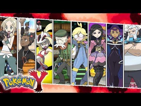 All Gym Leader Battles   Pokemon X/Y