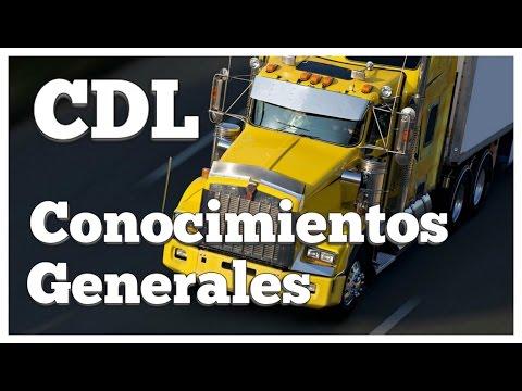 CDL EN ESPAÑOL PREGUNTAS DE EXAMEN DE CONOCIMIENTOS GENERALES commercial driver's license