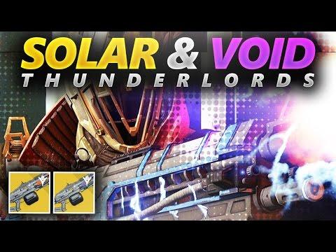 Destiny: SOLAR/VOID/ARC THUNDERLORD IN DESTINY?!