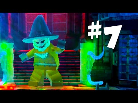 Road To Arkham Knight - Lego Batman 2 Gameplay Walkthrough Part 7 - Lego Scarecrow Boss Fight