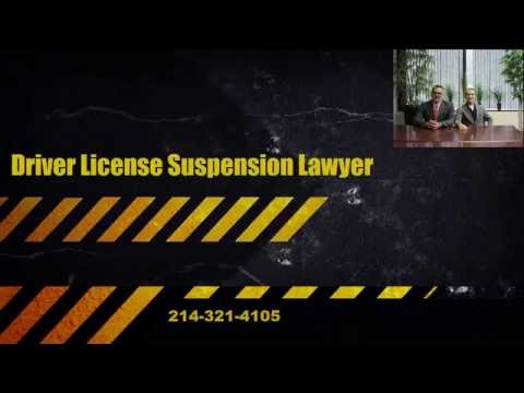 Driver License Suspension Lawyer